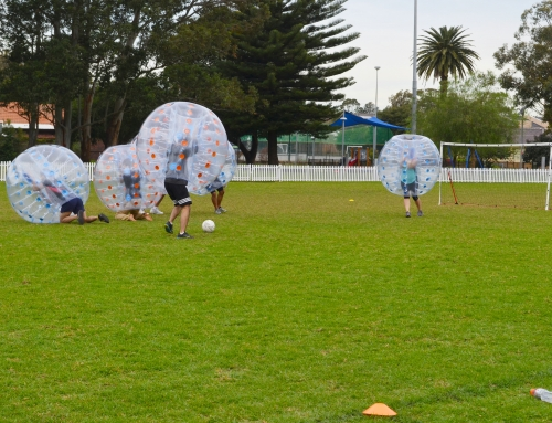 How to Play Bubble Soccer