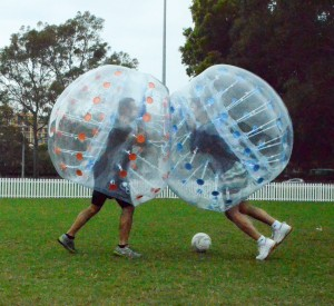 Frequently asked questions about bubble soccer